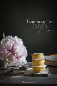 le lemon bars sono un dolce perfetto per l'estate. la freschezza del limone e la facile preparazione ne fanno un must estivo.