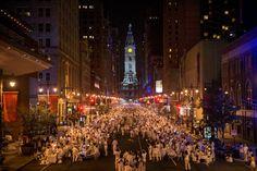 Diner en Blanc Philadelphia 2015 #debphl15