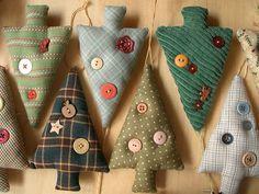 Handmade eлочные игрушки: елки
