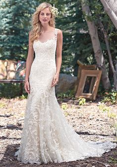 Maggie Sottero Rhianne Wedding Dress - The Knot
