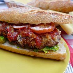 Milanesa Steak Sandwich