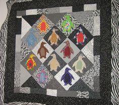 Nathan's #Penguin #Quilt, 2006