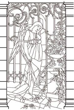 Art-thérapie : l'art du vitrail, 100 coloriages anti-stress: Amazon.de: Sophie Leblanc: Fremdsprachige Bücher