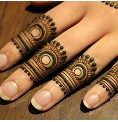 Finger Mehendi Designs, Mehndi Designs Front Hand, Pretty Henna Designs, Mehndi Designs For Kids, Latest Henna Designs, Mehndi Designs Feet, Mehndi Designs Book, Mehndi Designs For Beginners, Unique Mehndi Designs