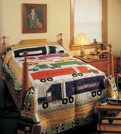 On The Road Again  -awesome! reminds me of the sheets we had as a kid from Marrimekko I think