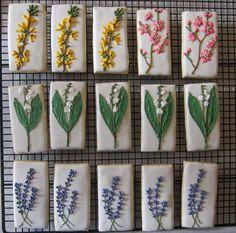 Botanical Cookies