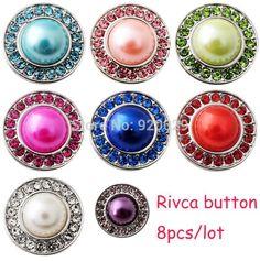 D02140 mix color OEM ODM hot sale snap rivca button for 18mm button bracelet 8…