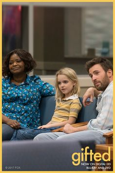 Life is always better together.  Watch Chris Evans, Octavia Spencer and Mckenna Grace in Gifted now on Blu-ray, DVD and Digital HD.
