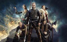 Vikings, serie, războinici, eroi