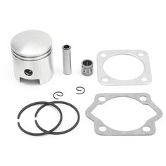 Universal Piston Cylinder Gasket Rings Engine Kit For 2 Stroke 80cc Engine Motor  Description: 1.Improve the thermal efficiency. 2.Support the piston reduce friction and leakage. 3.Suitable to replace your broken one. 4.Direct Replacement Parts for Hassle-Free Installation. 5.Including all gaskets and components necessary. Specification: Model number: 511024 Product name: Motorized bicycle piston ring set Material: Metal Main Color: Sliver Quantity: 1set = 9 pcs Fitment: For 2 stroke 80cc…