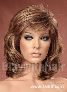 Fashion wig New Charm women's Medium Long Brown Blonde Full Wigs Short Taper Haircut, Tapered Haircut, Fade Haircut, Medium Hair Styles, Curly Hair Styles, Natural Hair Styles, Brown To Blonde, Light Blonde, Blonde Wig