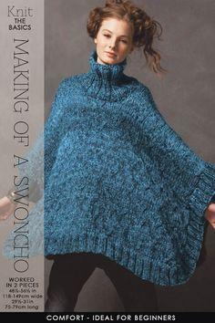 A Swoncho - elegant and useful for the coming season - DiaryofaCreativeFanatic