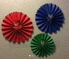 Pj Masks Brithday Party Rossets / Disney Jr. Handmade One Of A Kind FOR SALE • EUR 14,22 • See Photos! Money Back Guarantee. SUPER CUTE PJ MASKS PARTY DECORATIONS!! DISNEY JR PJ Masks is a French animated preschool television series The show is based on the Les Pyjamasques book series from French author 122655934519