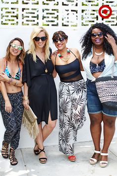 Summer lovin' starts now. Grab the girls and get ready to turn heads—playing up your best assets and accessorizing swim has never been easier (or more fun). Pop over to our YouTube channel to find your perfect pool-to-street style with stylist, Zanna Roberts Rassi.