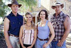 McLeod's Daughters - I'm totally addicted to watching this show on Netflix.
