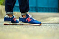 #NewBalance 1400 «Dark Royal» J.CREW #Sneakers