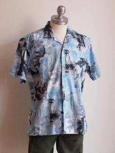 WATER ISLAND:ギットマン★SALE★コットンアロハシャツ!!!