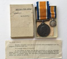 Rare ww1 nursing #sister war medal including miniature in #original #issue box ,  View more on the LINK: http://www.zeppy.io/product/gb/2/172497028125/