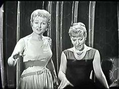 Patti Page, Jo Stafford, Accentuate the Positive, Big Record, 1958 TV Show