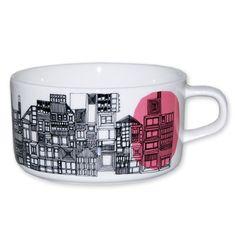Marimekko in good company tea cup siirtolap - tableware - interior decoration Marimekko, Serveware, Tableware, Kitchenware, Scandinavia Design, Gadgets, Unique Toys, Shops, Tea Art