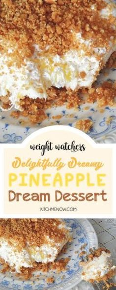 Diet Meals Weight Watchers Recipes with Smartpoints - Dinner, Chichen and Desserts. Get the best ideas of dinners, lunches and desserts - weight watchers recipes with low SmartPoints to keep you on a healthy and delicious diet! Weight Watcher Desserts, Weight Watchers Vegetarian, Weight Watcher Dinners, Weight Watchers Cake, Weight Watchers Fluff Recipe, Weight Watcher Cookies, Köstliche Desserts, Health Desserts, Delicious Desserts