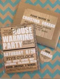 CUSTOM Housewarming Invitation by meghanhenrydesign on Etsy https://www.etsy.com/listing/236704626/custom-housewarming-invitation