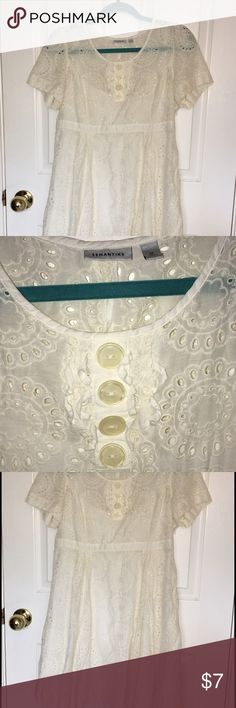 Semantiks Sun Dress Beautiful light and flowy sun dress. Perfect for the spring and summer.  Size Medium Semantiks  Dresses Midi