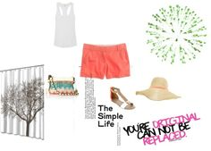 Fun in the Sun, created by kailan-white on Polyvore