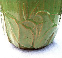 Vintage 1940 Rare McCoy Jardiniere Planter by NonabelleVintage, $40.00