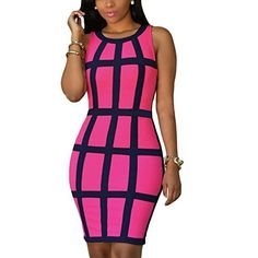 "New Trending Formal Dresses: Women Dress, Misaky Bandage Cocktail Sleeveless Bodycon Evening Party Dresses (S, Z_Hot Pink). Women Dress, Misaky Bandage Cocktail Sleeveless Bodycon Evening Party Dresses (S, Z_Hot Pink)   Special Offer: $9.50      466 Reviews Please refer to the size measurement below before ordering. Size Detail(1″=2.54cm) Asian Size:S Bust:84cm/33.1"" Waist:68cm/26.8""..."