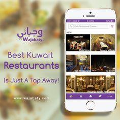 Top 5 Best Restaurants in Kuwait That Every Foodie Must Visit #RestaurantsInKuwait #Restaurants #Wajabaty #FoodApp