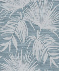 Bambara Leaf by Albany - Bambara Leaf Teal - Wallpaper : Wallpaper Direct Dining Room Wallpaper, Teal Wallpaper, Black And White Wallpaper, Textured Wallpaper, Textured Background, Albany Wallpaper, Faux Grass, High Quality Wallpapers, Texture Design