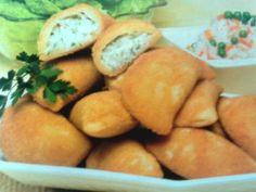Receitas - Rissois de creme de pescada - Petiscos.com