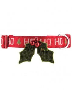 Christmas mistletoe dog collar. Dying! (Does this mean you have to kiss whatever is under your dog?)