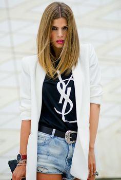 Ms Treinta - Fashion blogger - Blog de moda y tendencias by Alba.: Yves Saint Laurent