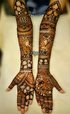 Ideas For Bridal Mehendi Designs Hands 2019 Indian Mehndi Designs, Stylish Mehndi Designs, Latest Bridal Mehndi Designs, Wedding Mehndi Designs, Beautiful Mehndi Design, Mehndi Design Pictures, Mehndi Images, Hena Designs, Mehndi Desighn