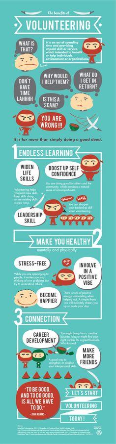 benefits of volunteering essays