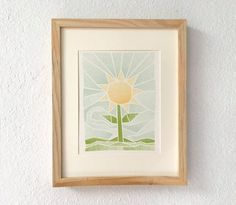 Sunflower print sunflower decor you are my sunshine by ShortyLife