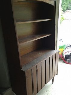 Clean old wood furniture