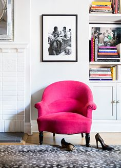 Be daring with vibrant furniture pieces