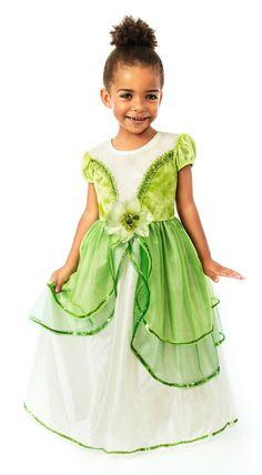 American Girl Doll Sized Princess Tiana Wedding Dress Princess and ...