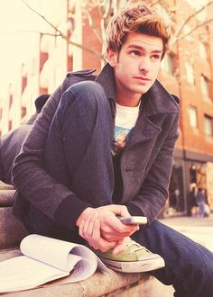 And then God created Andrew Garfield and the world was a beautiful place