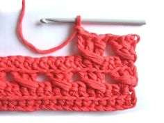 Crochet Stitch - Tutorial.
