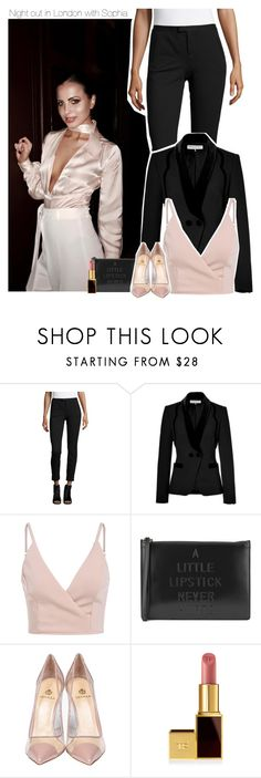 """Night out in London with Sophia"" by perfectharry ❤ liked on Polyvore featuring ATM by Anthony Thomas Melillo, Emilio Pucci, Lulu Guinness, Semilla and Tom Ford"