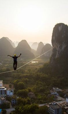 """""""the ghost inside"""" world record slackline in China long - TRAILER The Ghost Inside, Rome, Line Photography, High Line, Pre Raphaelite, World Records, Gods And Goddesses, Summer Vibes, Adventure Travel"""