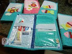 Resultado de imagem para molde de kit higiene para bebe
