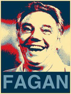 Joe Fagan hope poster - Liverpool FC