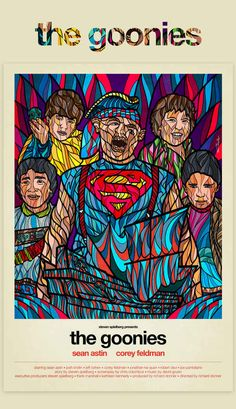 The Goonies (1985) | 8 Modern Redesigns Of Classic '80s Movie Posters