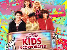 Kids Incorporated.  The blonde is actually Fergie from Black Eyed Peas