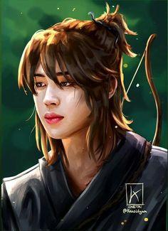 Jungkook Fanart, Foto Jimin, Bts Fans, Jikook, Eye Candy, Anime Art, Fan Art, Park, Drawings